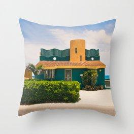 Across the Street Throw Pillow