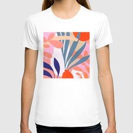 Jungle Love - Pink & Blue T-shirt