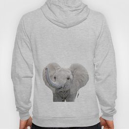 Elephant Calf Art Hoody