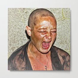 From the series montage recognition. Metal Print