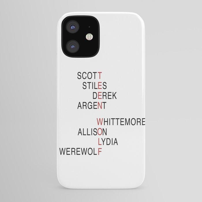 Teen Wolf iPhone Case by danlebrun
