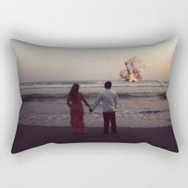 Heartbreaks and Shipwrecks Rectangular Pillow