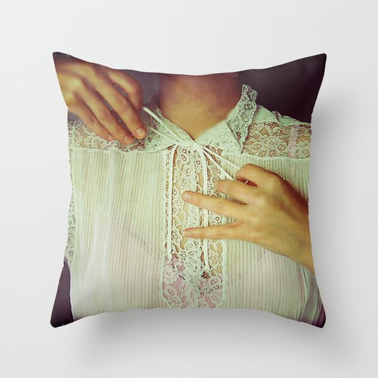 Tie Throw Pillow