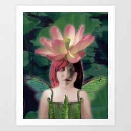 Lotus Dreamer Art Print