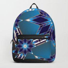 Morning Star Circle (Blue) Backpack