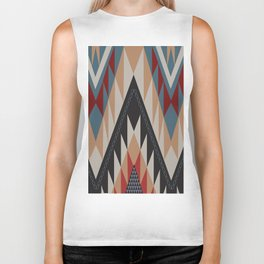 American Native Pattern No. 11 Biker Tank