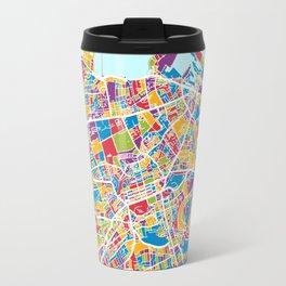 Edinburgh Street Map Travel Mug