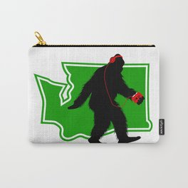 Bigfoot walk in Washington Carry-All Pouch