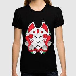 kitsune mask T-shirt