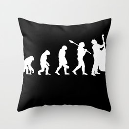 Double bass string instrument orchestra concert Throw Pillow
