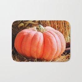 Pink Pumpkin Bath Mat