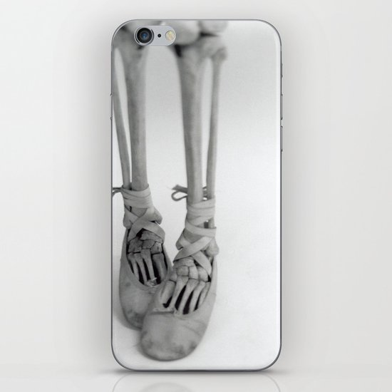 Skeleton Pointe iPhone Skin