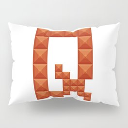 "Letter ""Q"" print in beautiful design Fashion Modern Style Pillow Sham"
