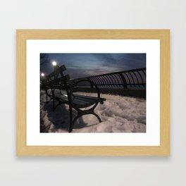 New York - Battery Park Framed Art Print