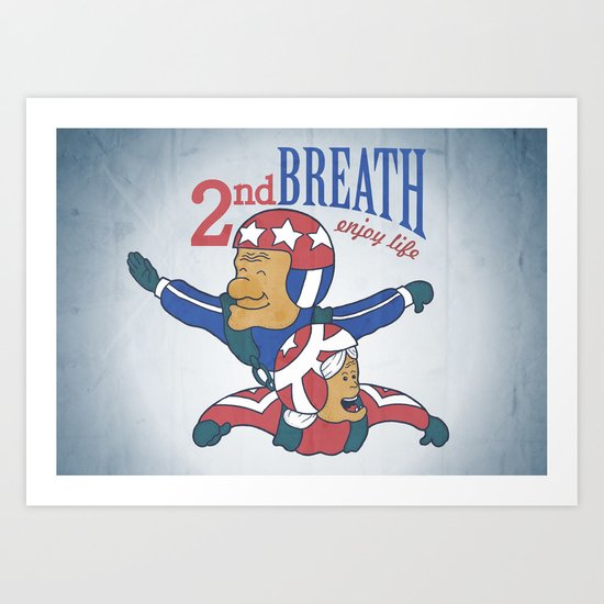 Second Breath Art Print