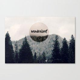 Wanderlust Canvas Print