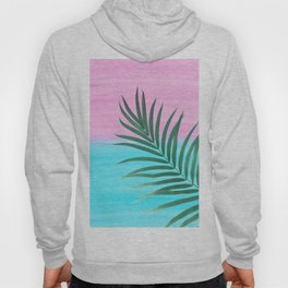 Dreamy Ocean View #1 #palm #pink #aqua #decor #art #society6 Hoody