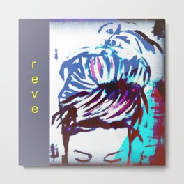 reve urban loft style art Metal Print