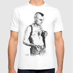 Taxi driver Robert de niro White Mens Fitted Tee SMALL