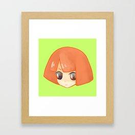 Head Head Framed Art Print