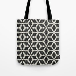 Openwork Abstract Pattern Tote Bag