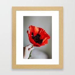FLORA III Framed Art Print