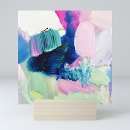 Friday Evening (Abstract Painting) Mini Art Print
