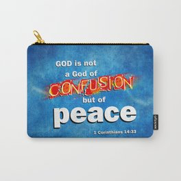 No Confusion Carry-All Pouch