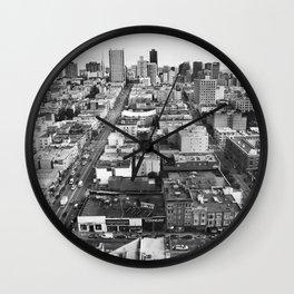 Birds Eye View Wall Clock