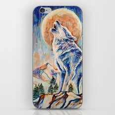 Wolf Lobo iPhone & iPod Skin