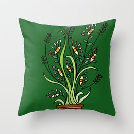 Bunch Throw Pillow