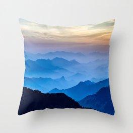 Mountains 11 Throw Pillow