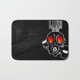 Land of the Gas Mask Bath Mat