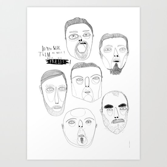 F R E S S E  1 Art Print
