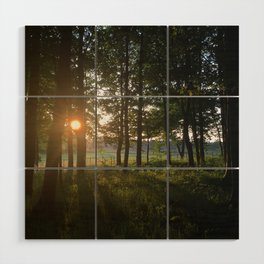 Dusk to Dawn Wood Wall Art