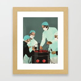"""""""Is Artificial Intelligence Permanently Inscrutable?"""" by Emmanuel Polanco for Nautilus Framed Art Print"""