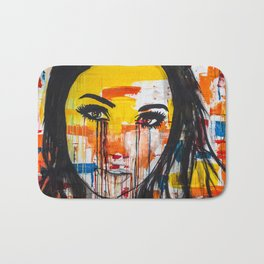 The unseen emotions of her innocence Bath Mat
