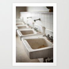 Clean Your Hands Art Print