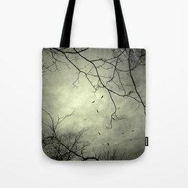 Spooky Kettle of Turkey Vultures Tote Bag