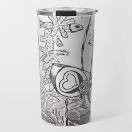 The Symbol of Eternal Love Travel Mug
