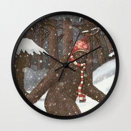 Everyone Gets Cold Wall Clock