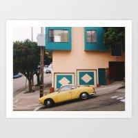 vw Art Prints featuring VW by Rachel Watkins