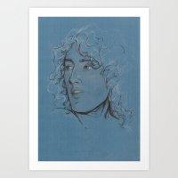Roger Daltrey (the Who) Art Print