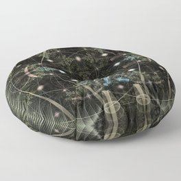Mobius Forest Floor Pillow