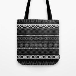 Infinity Pattern (black & white) Tote Bag