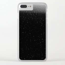 Night sky-27 Clear iPhone Case