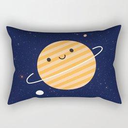 Happy Planet Rectangular Pillow
