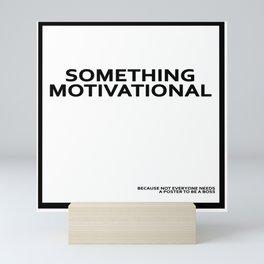 MOTIVATION Mini Art Print