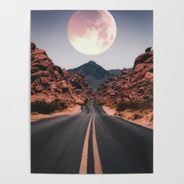 Mooned Poster