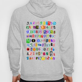 Colorful and Fun Depiction of Pi Calculated Hoody